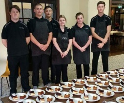 Hospitality caters for Mayoral Morning Tea